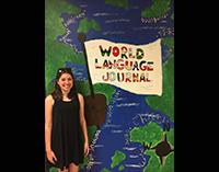 "Cunningham Wins ""World Language Journal"" Contest"