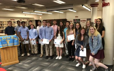 Math Honor Society Inducts 20 Members