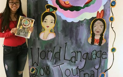 Tung Wins World Language Journal/Mural Contest