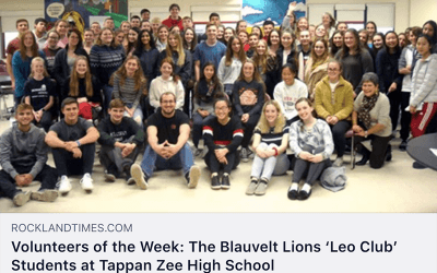 """Leos Lauded as """"Volunteers of the Week"""""""