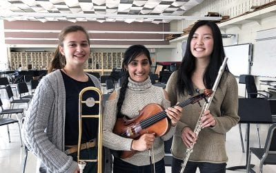 Three Musicians Selected for 2019 All-Eastern Honors Ensembles