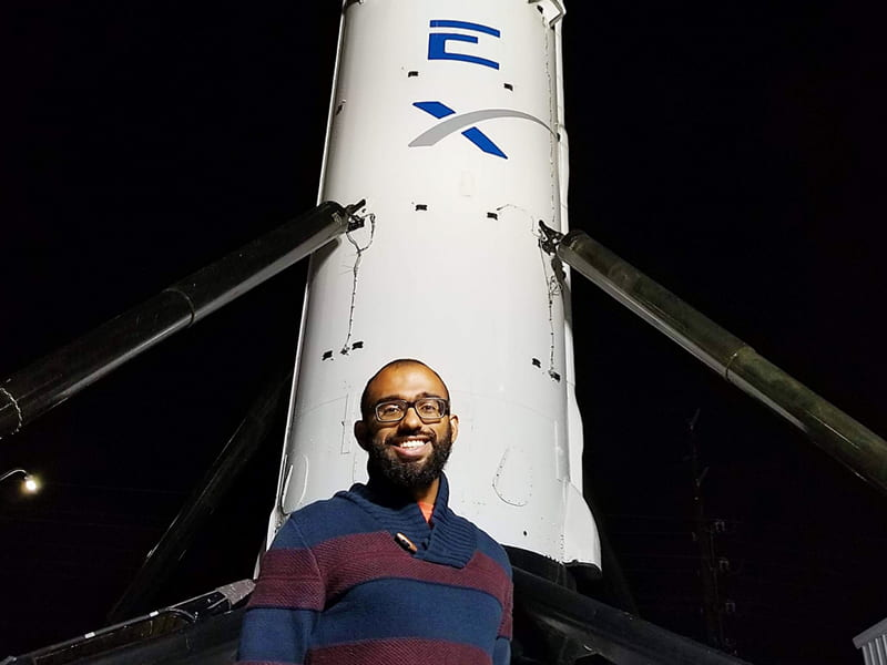 #ProudTZGrad Joval Mathew ('12) Builds the Future of Spaceflight