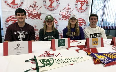 Four Athletes Commit to College Athletics