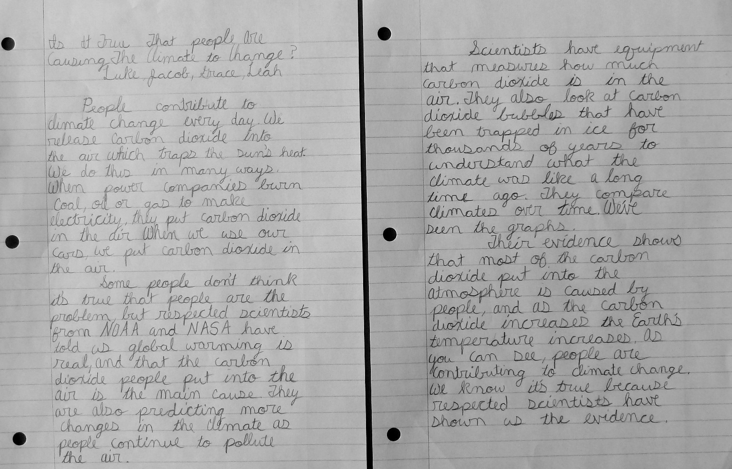 are expository essays written in first person