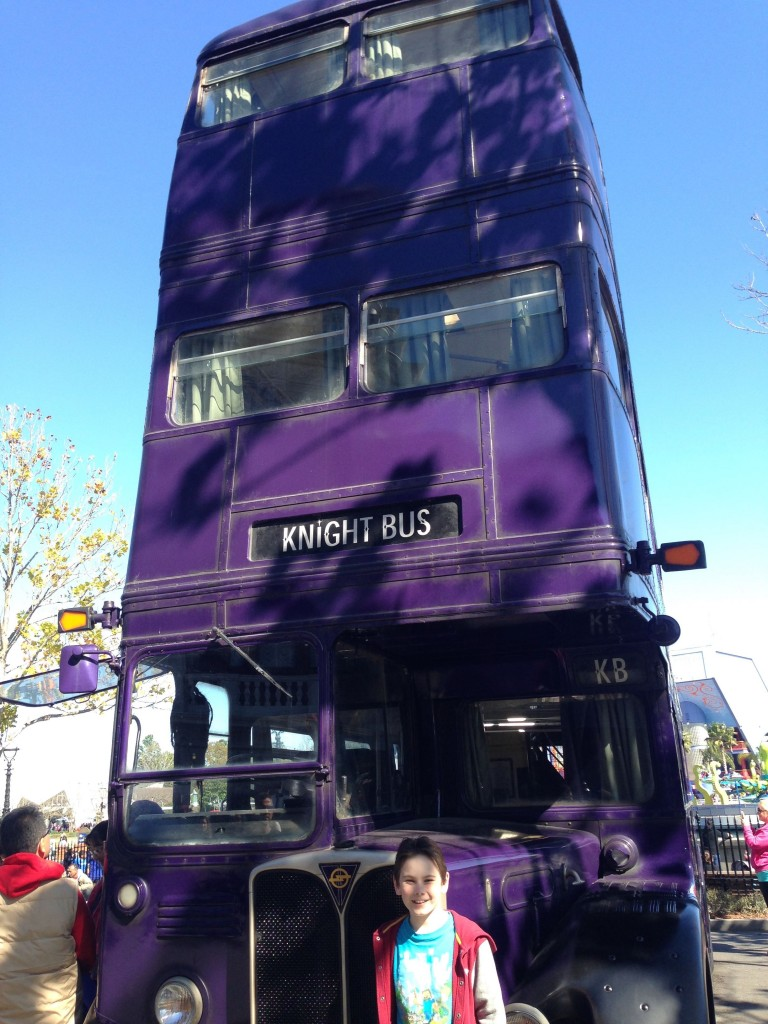 46. The KNight bus
