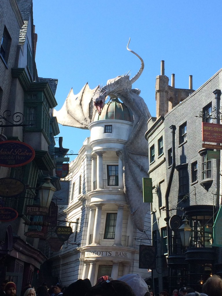 47. Dragon at Gringotts