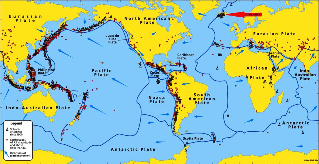 Iceland&ContinentalPlates