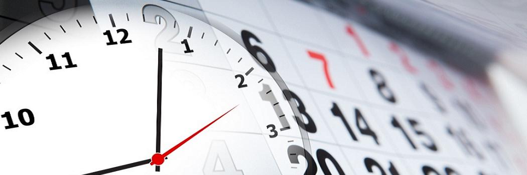 Salas y horarios Exámenes Unificados del Progreso 1
