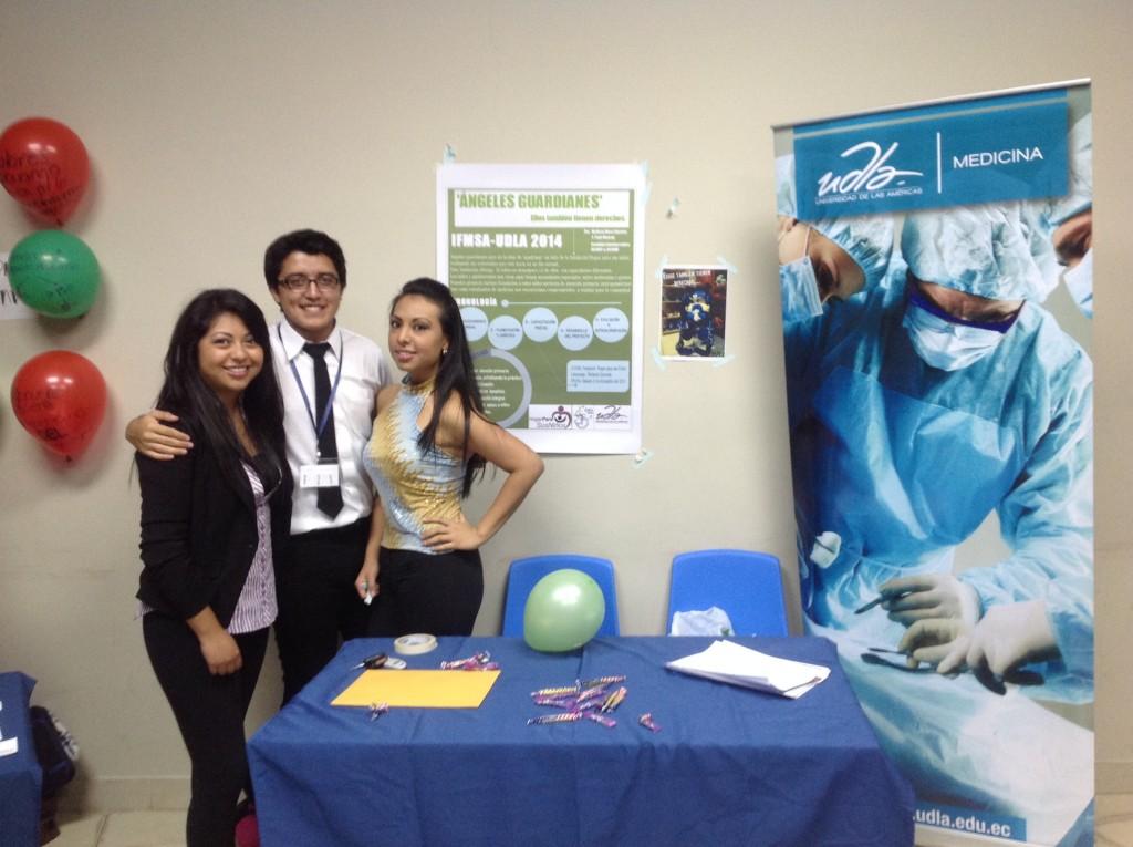 Josselyn Morejon, Paul Moreno, Melissa Mera - Coordinadores del Proyecto