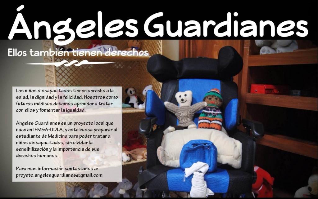 Poster Publicitario de Ángeles Guardianes