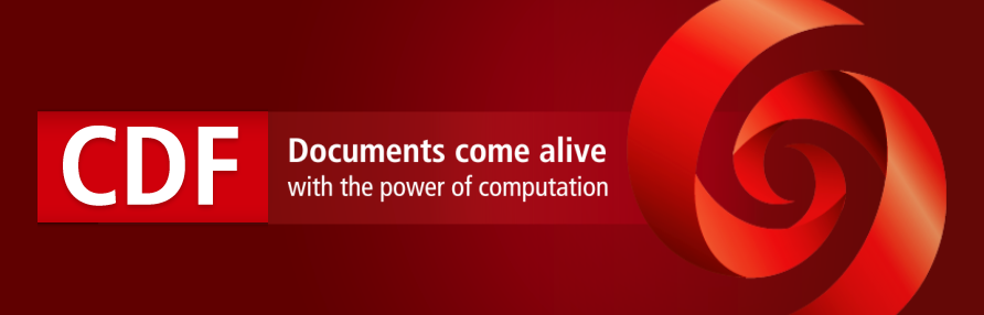 Computable Document Format for Interactive Content