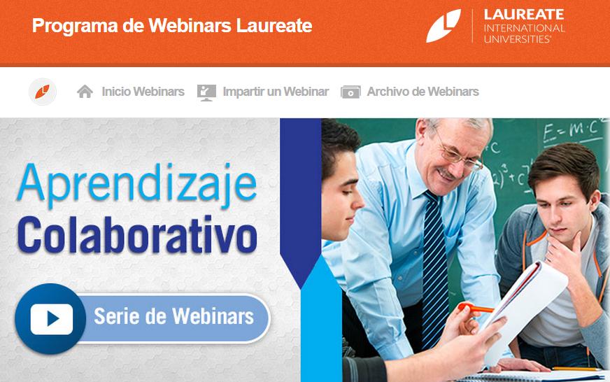 Aprendizaje Colaborativo Serie de webinars