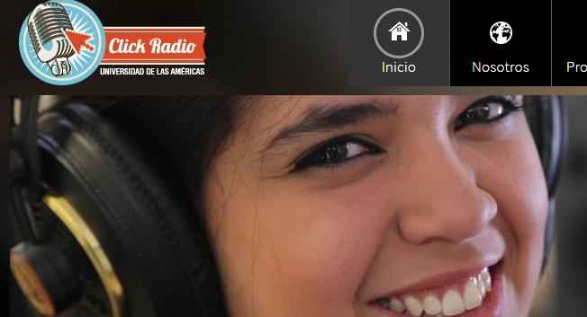 Click radio online UDLA