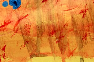 paint texture close up