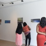 opening reception at gallery