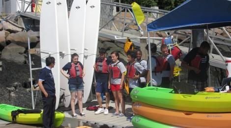 Summer Transportation Institute: Kayaking