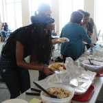 Trying out a variety of food was the best part of the Cultural Day!