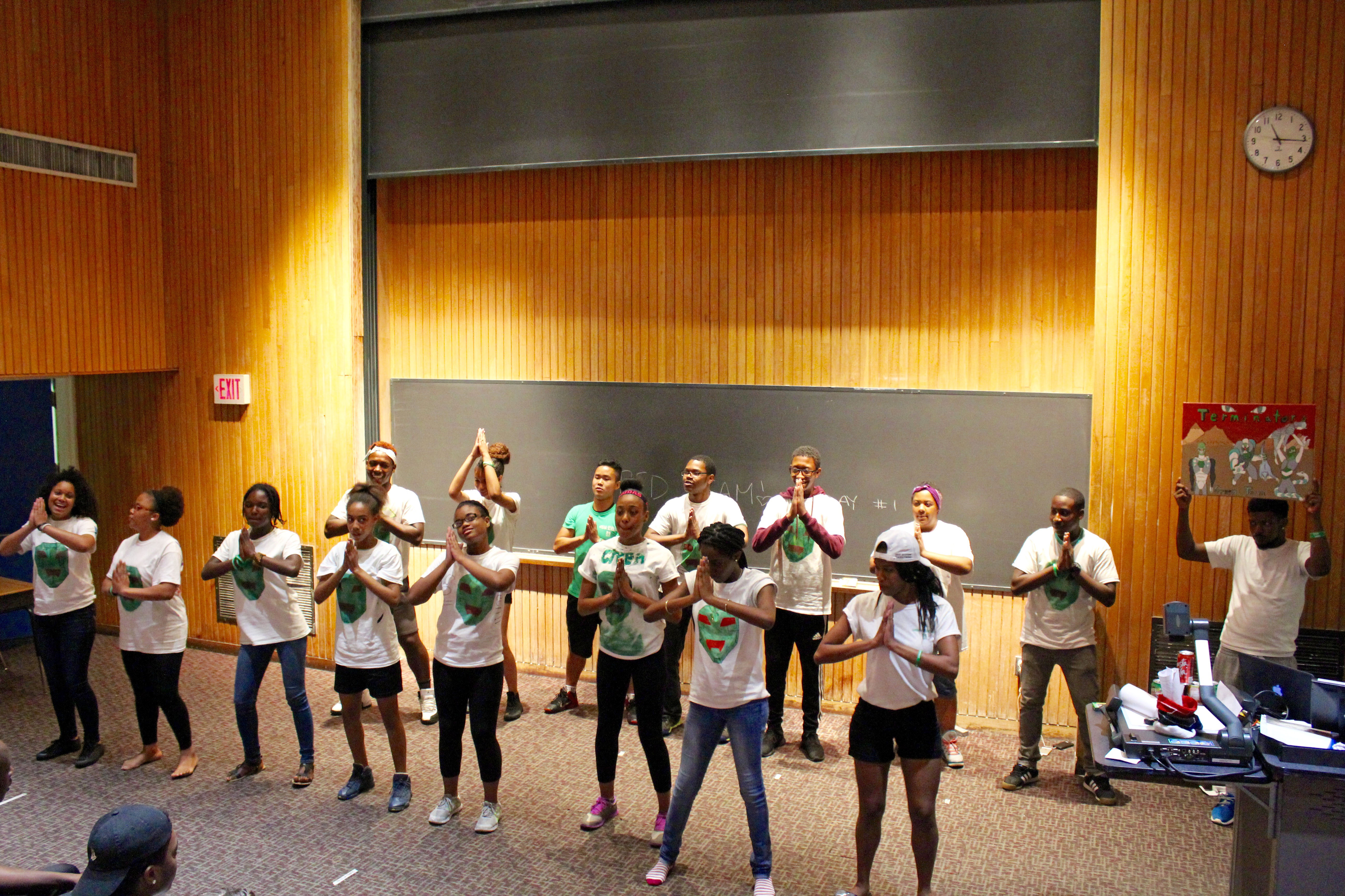 Green team was the largest team of the summer.