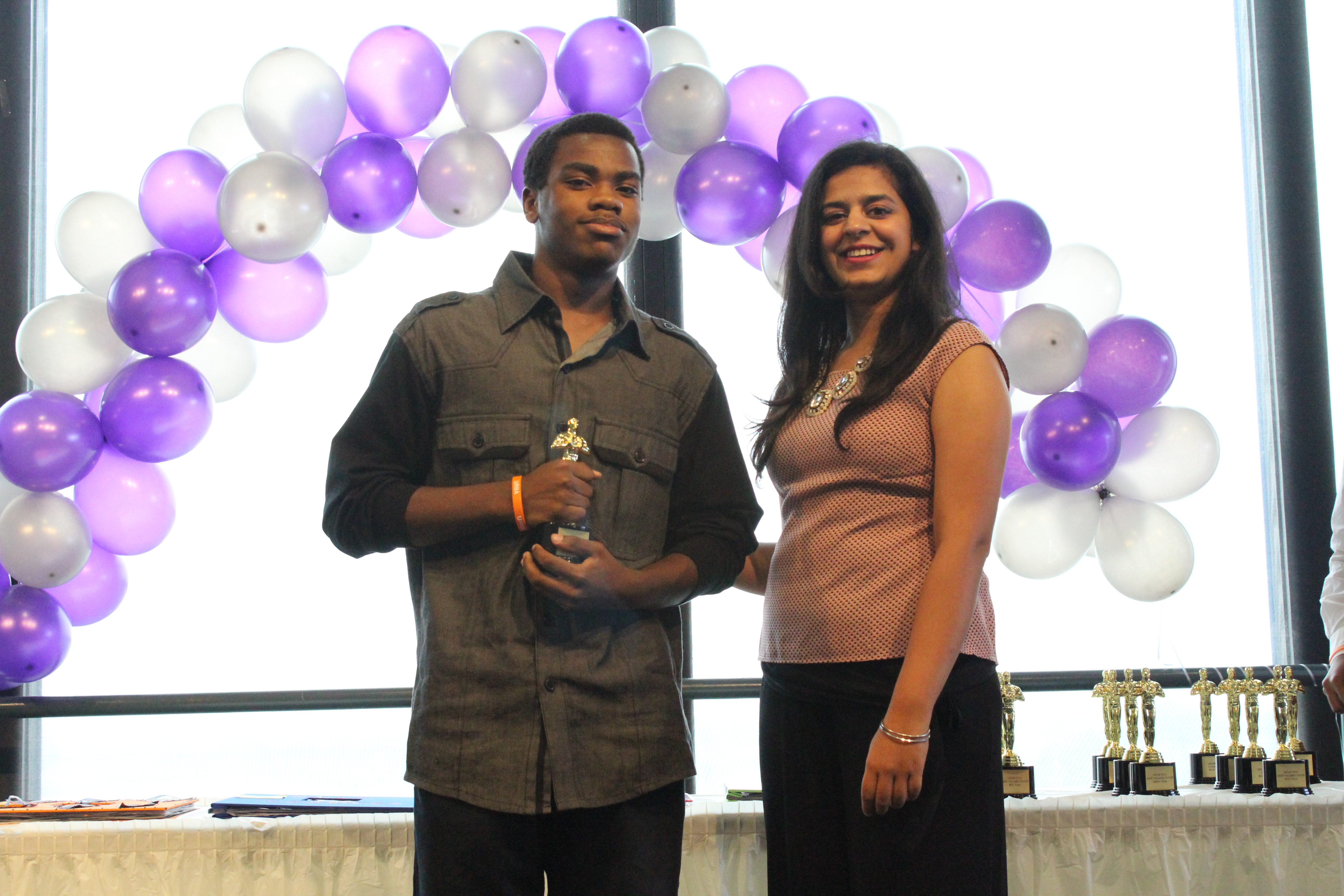 Urban Scholars student also received an USCARS award for being outstanding on the afternoon activities!