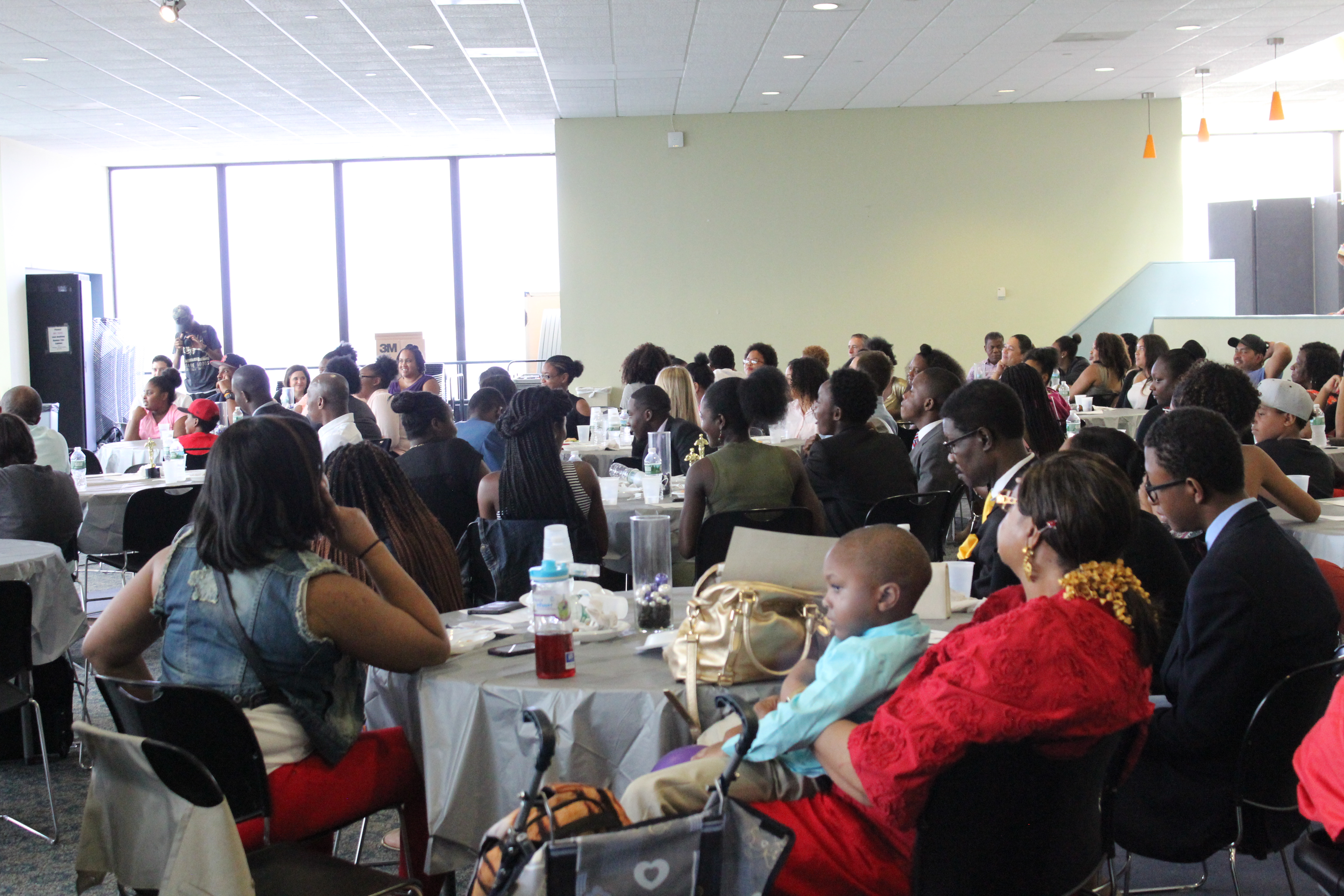 Families and friends came together to celebrate the Urban Scholars kids hard work!