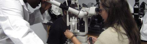Urban Scholars Program Goes to New England College of Optometry (NECO)