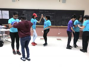 TAG students start dancing in pairs