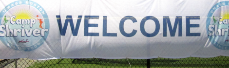 Sign of Camp Shriver