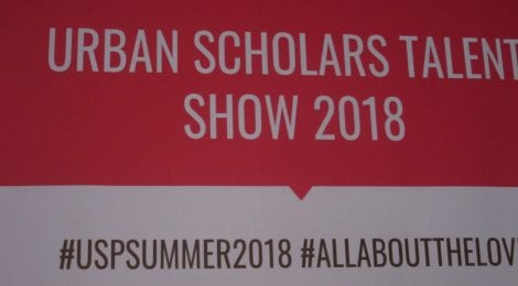 Urban Scholars: Talent show 2018