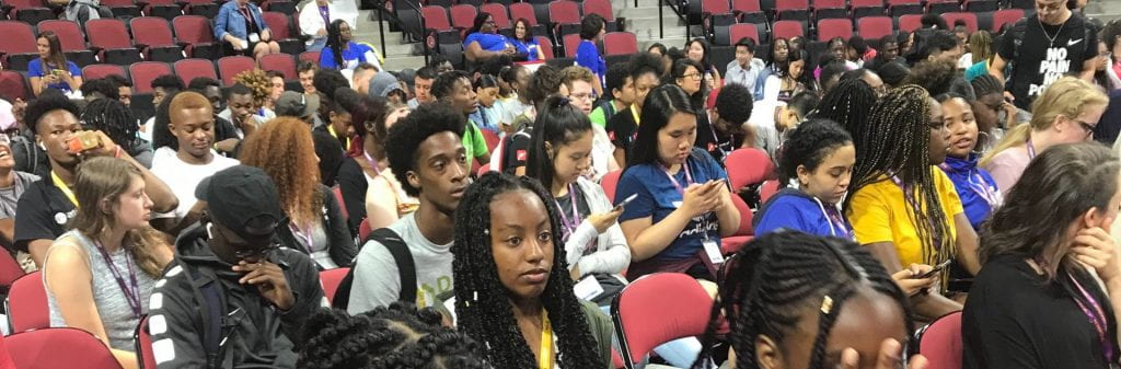 MLK Scholars from all over Massachusetts come to Friday forum