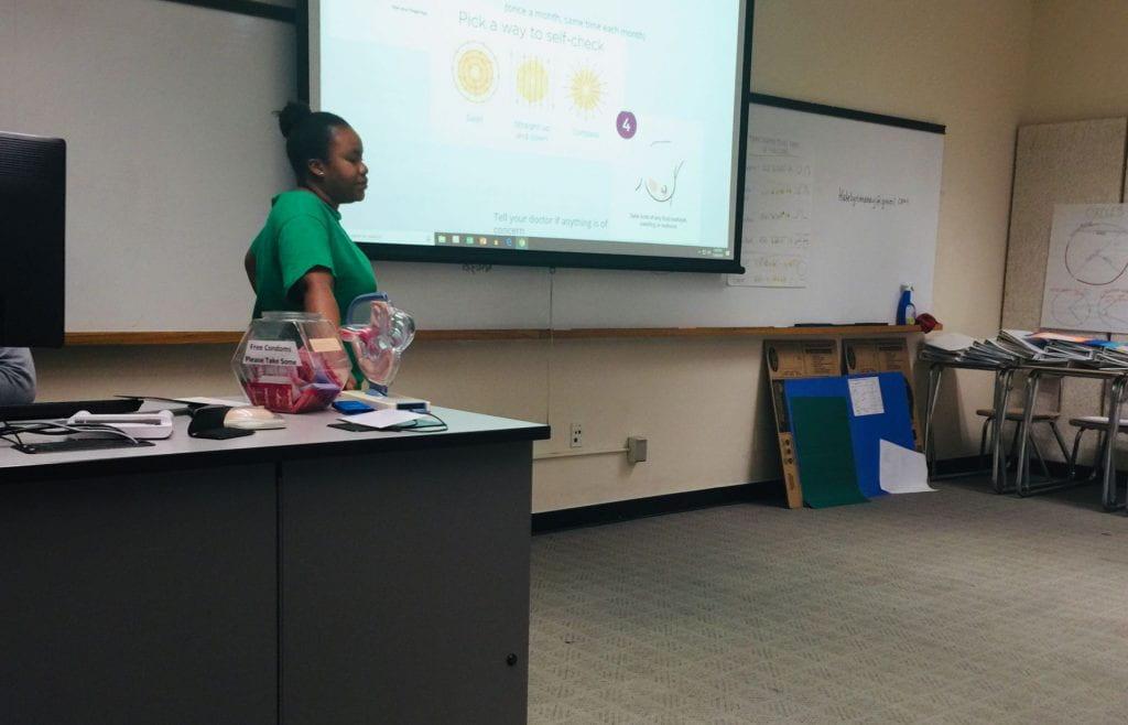 interns are teaching the class