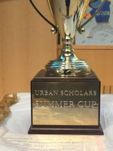 The urban scholars summer cup that goes to the team that wins