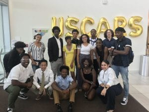 The USCARS scholars pose for a group picture