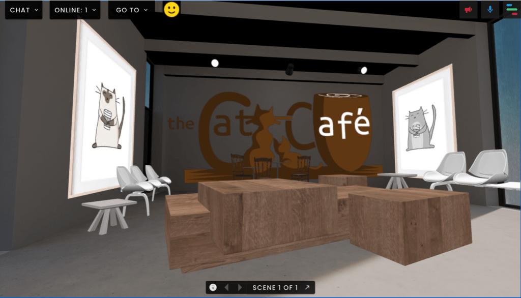 Cat cafe image 3 FrameVR