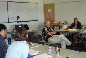 Photo: Peter Golden with Teacher Consultants