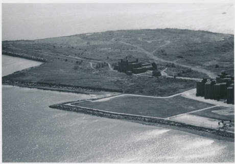 1968 photo of Columbia Point