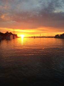 Final sunset in Zadar (Photo credit: Deniz Bertuna)