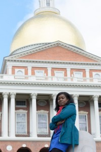 McCormack Student at MA State House