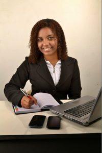 Black female executive