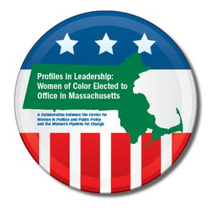 women in political leadership political button