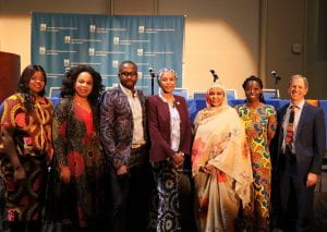 Photo of the Organizers in Africa Day 2020