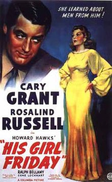 Featured Film of the Week: His Girl Friday