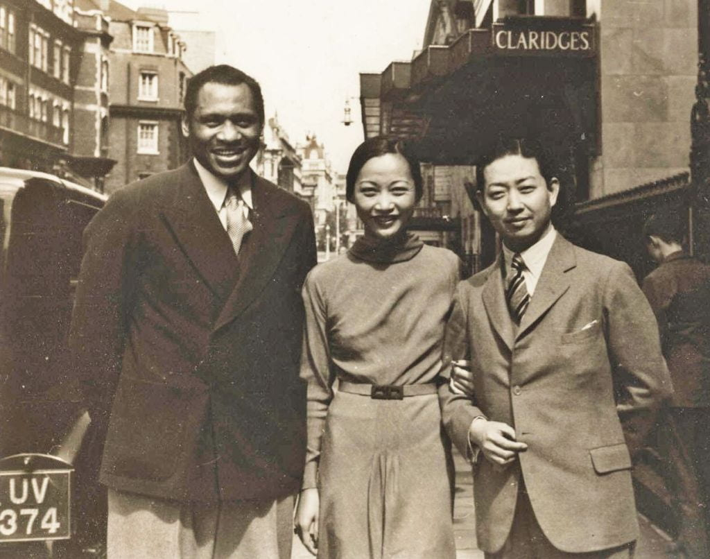 Paul Robeson in China