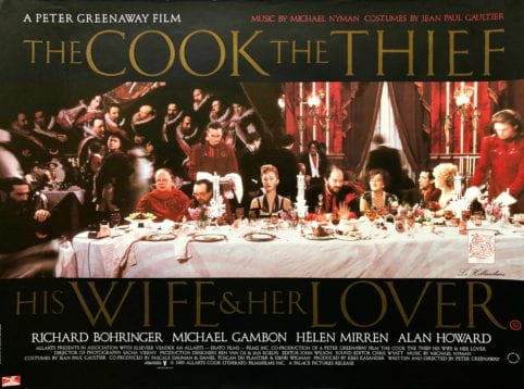 The Cook, The Thief, His Wife and Her Lover poster
