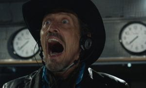 Grant the shock-jockey at work