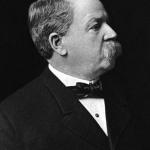 George Albert Clough, in profile.