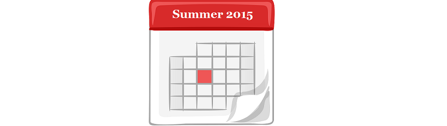 Tentative Summer Schedule
