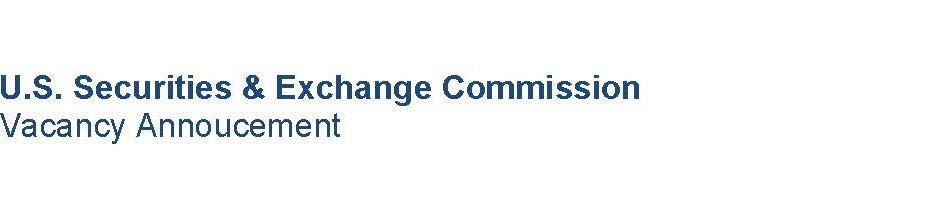 Job Opportunities with U.S. Securities and Exchange Commission ( SEC )
