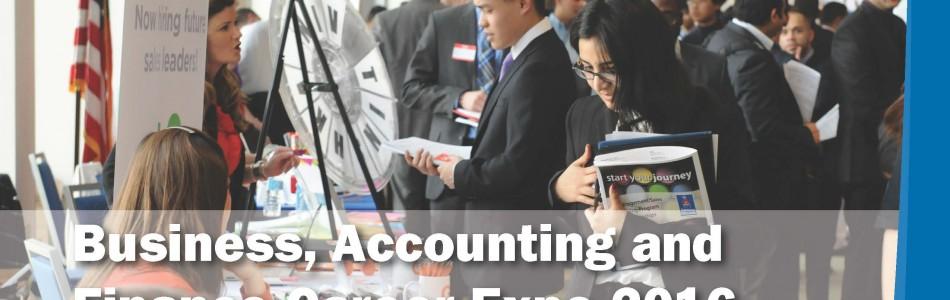 Business, Accounting & Finance Career Fair Fall 2016