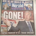 Boston Herald cover, 10 September 2014