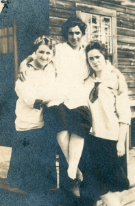 Ethel Epstein Maysles, Anna Cooper Levin, and Lea Ginsberg Dektor. Image courtesy University Archives & Special Collections, Joseph P. Healey Library, UMass Boston.
